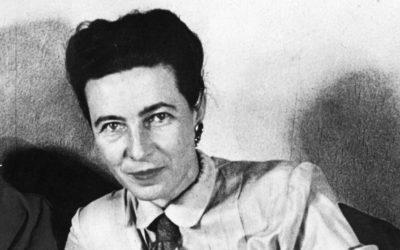 Mujer del Mes en Symetrias: SIMONE DE BEAUVOIR, la cara de la rebelión feminista.