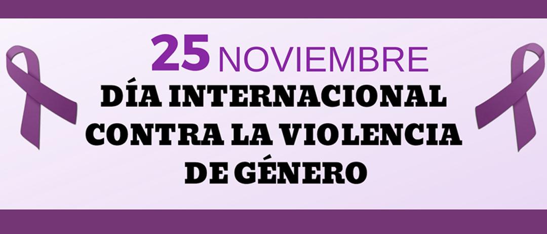 25 de Noviembre. Día Internacional para la Eliminación de la Violencia hacia las Mujeres.