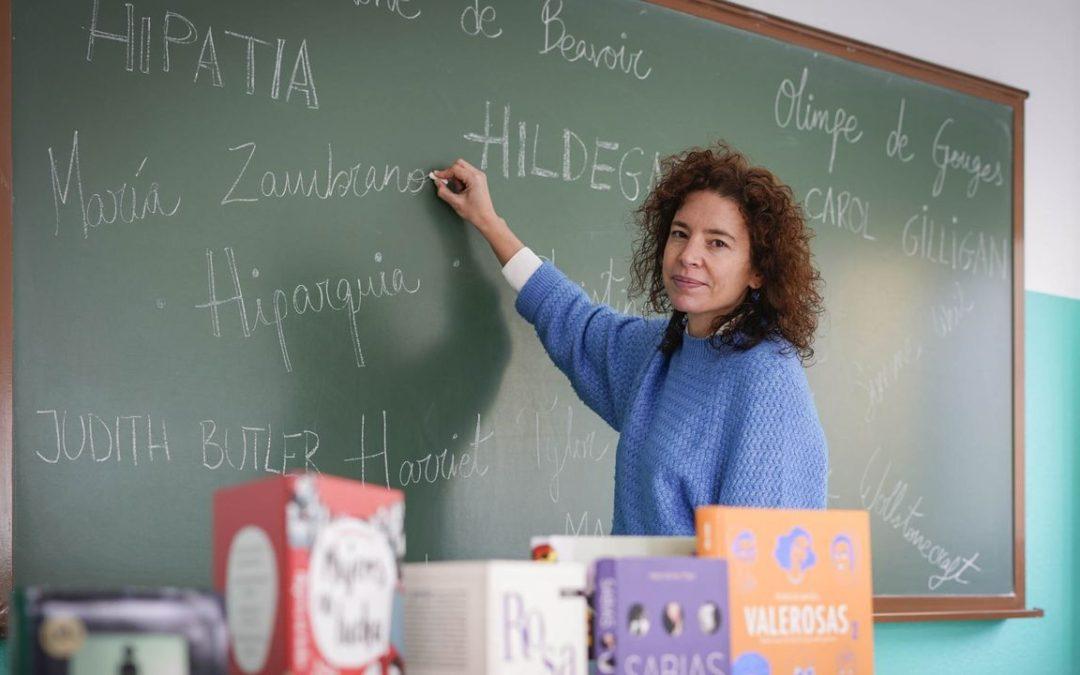 Una profesora ourensana inicia una campaña para que se incluya a mujeres en el temario de filosofía