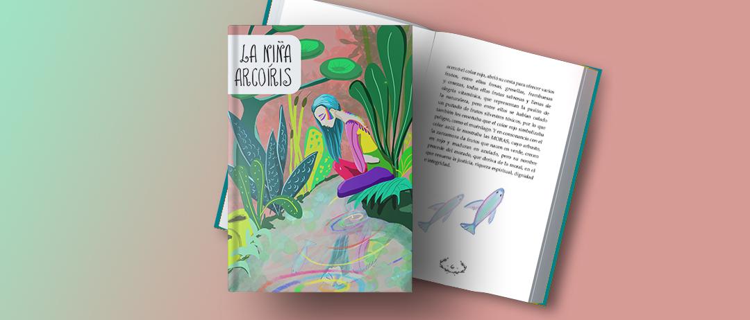 Séptimo cuento Symetrías: La niña arcoiris