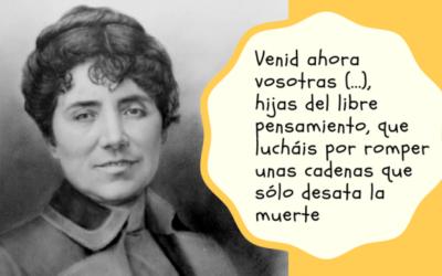 Mujer del mes de Symetrías: Rosalía de Castro