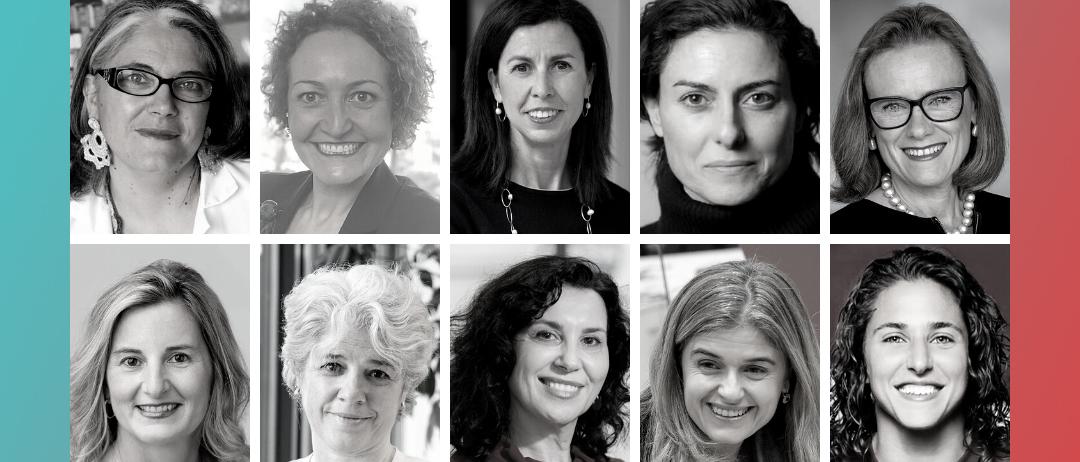 Las elegidas como Top10 Mujeres Líderes españolas en el Exterior