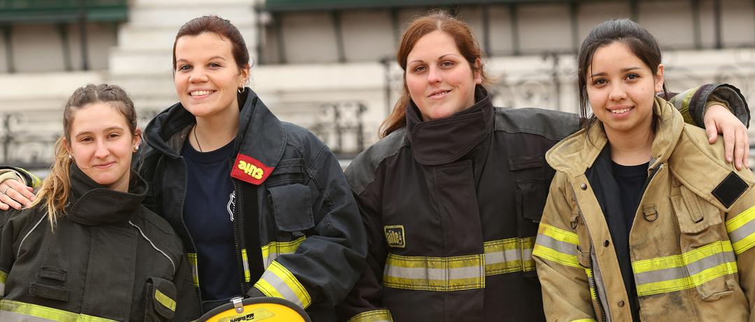 En España hay alrededor de 20.000 bomberos, sólo 168 son mujeres