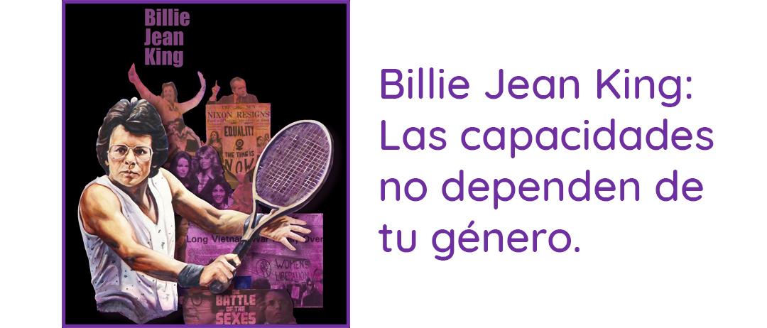 Mujer del mes de Symetrías: Billie Jean King, el feminismo en el tenis