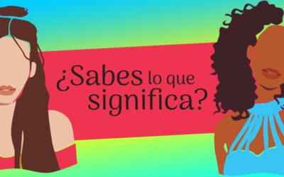 Nueva infografía de Symetrías sobre términos feministas