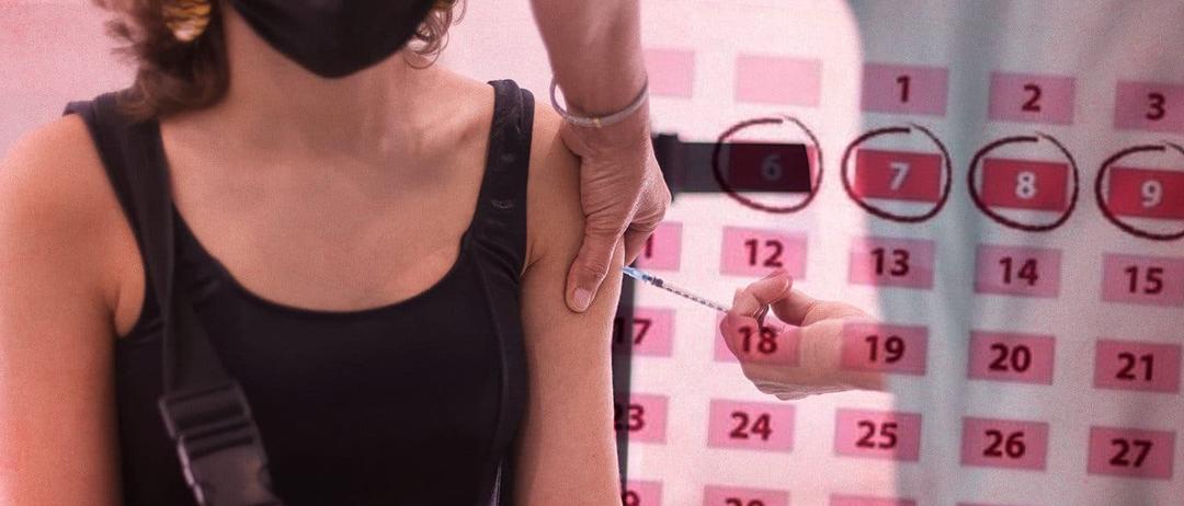 Un estudio con 1.600 mujeres confirma que la vacuna del Covid altera la regla