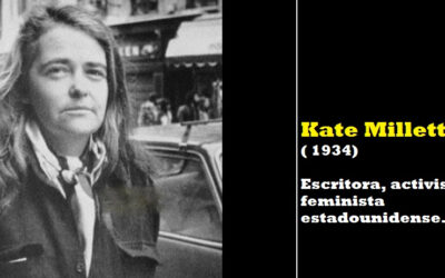 Mujer del mes de Symetrías: Kate Millet. Escritora, profesora, artista y activista feminista
